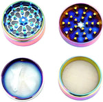 Funny Colorful Metal Zinc Alloy Weed/Herb Grinder | Free Shipping