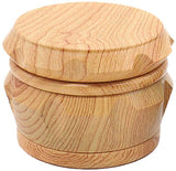 Herb Grinder Fake Wood Grain DrumType Smoking Crusher | Free Shipping