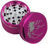 Lifes a Beach Metal Weed/Herb Grinder | Best Grinder | Free Shipping