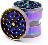 Open Window Turtle Shell Zinc Alloy Weed/Herb Grinder | Free Shipping