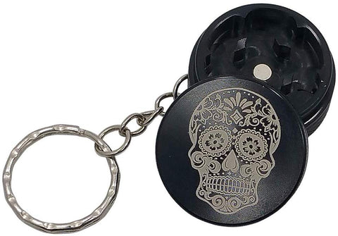 Skull Mini Metal Herb/Weed Novelty Keychain Grinder | Free Shipping
