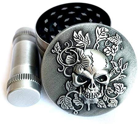 Zinc Alloy Weed/Herb Grinder Grater Silver For Sale | Free Shipping