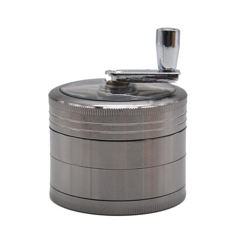 Crank | Herb/Weed Grinder | Zinc Alloy | Free Shipping