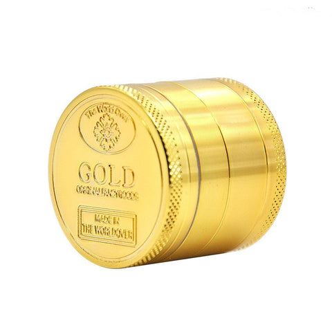 GOLD Coin Weed Grinder | Herb Grinder For Sale | 420 Gifts