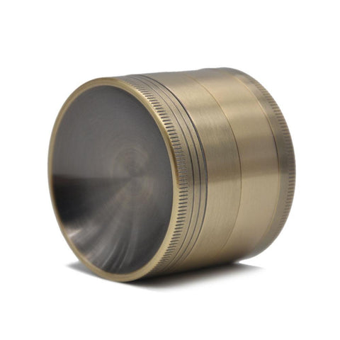 Herb Grinder With Mixing Concave(Ashtray) Lid 4 Layer 63 Mm