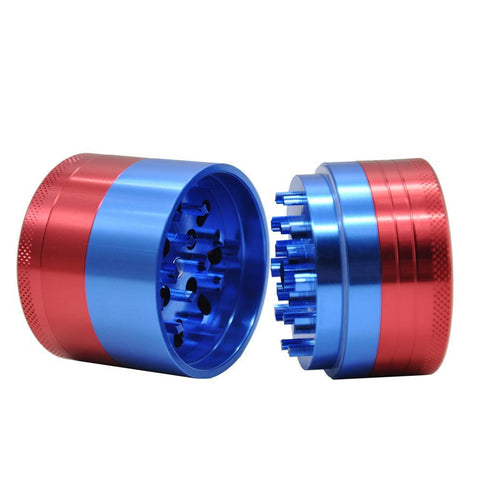 Mixed Color | Aluminium | Herb/Weed Grinder | Free Shipping