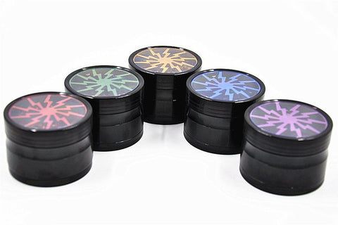 Thunder Blade Novelty Herb Grinder 4-Layer 63 Mm (5 Colors)