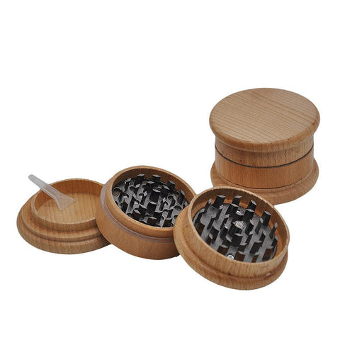 Wooden Casing Novelty Herb Grinder 63Mm 3 Layer