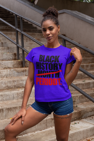 Ladies' Black History Shirt