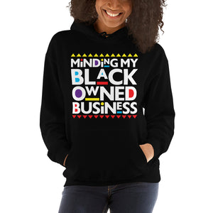 Women's Minding My Black Owned Business Hoodie