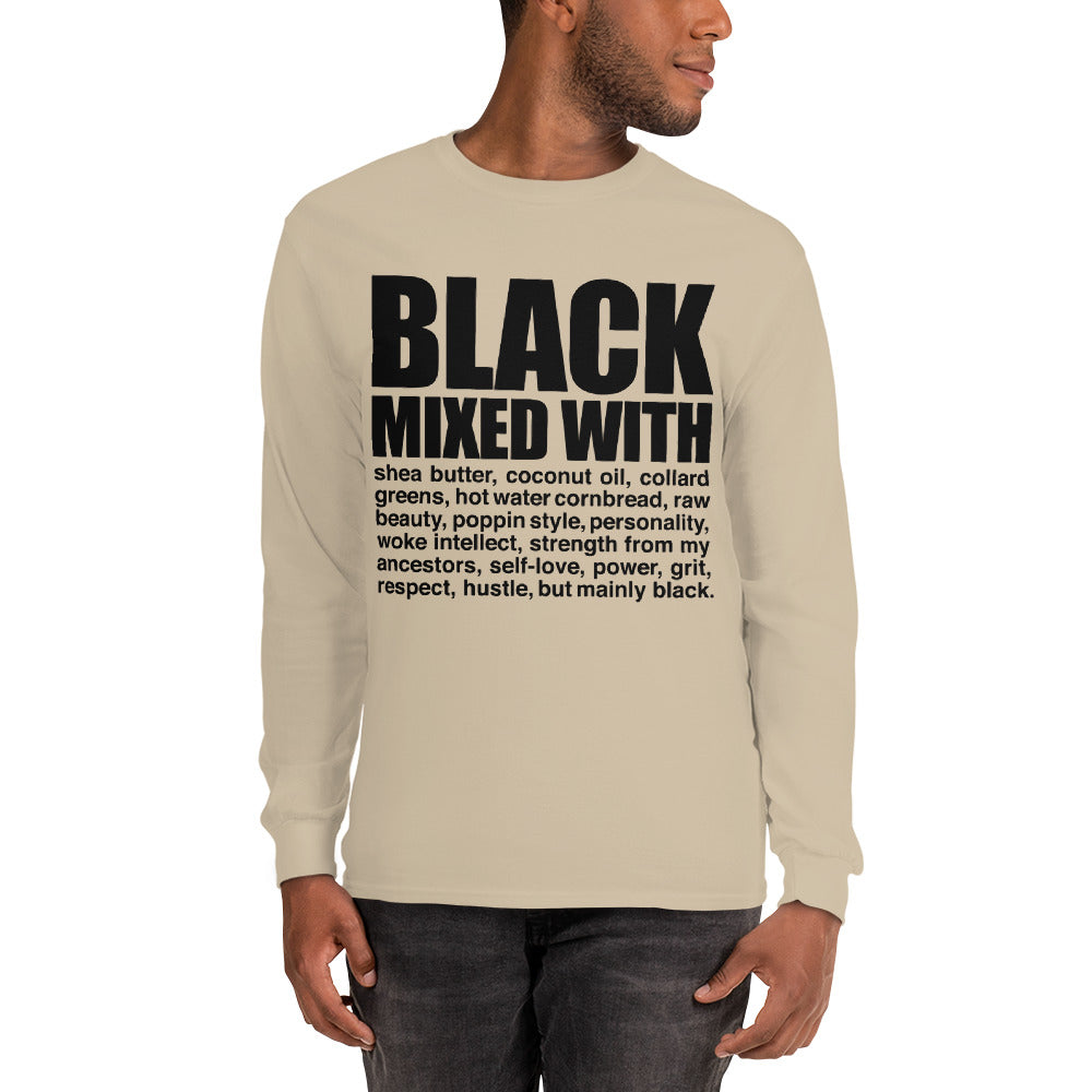 Men's Black Mixed With..