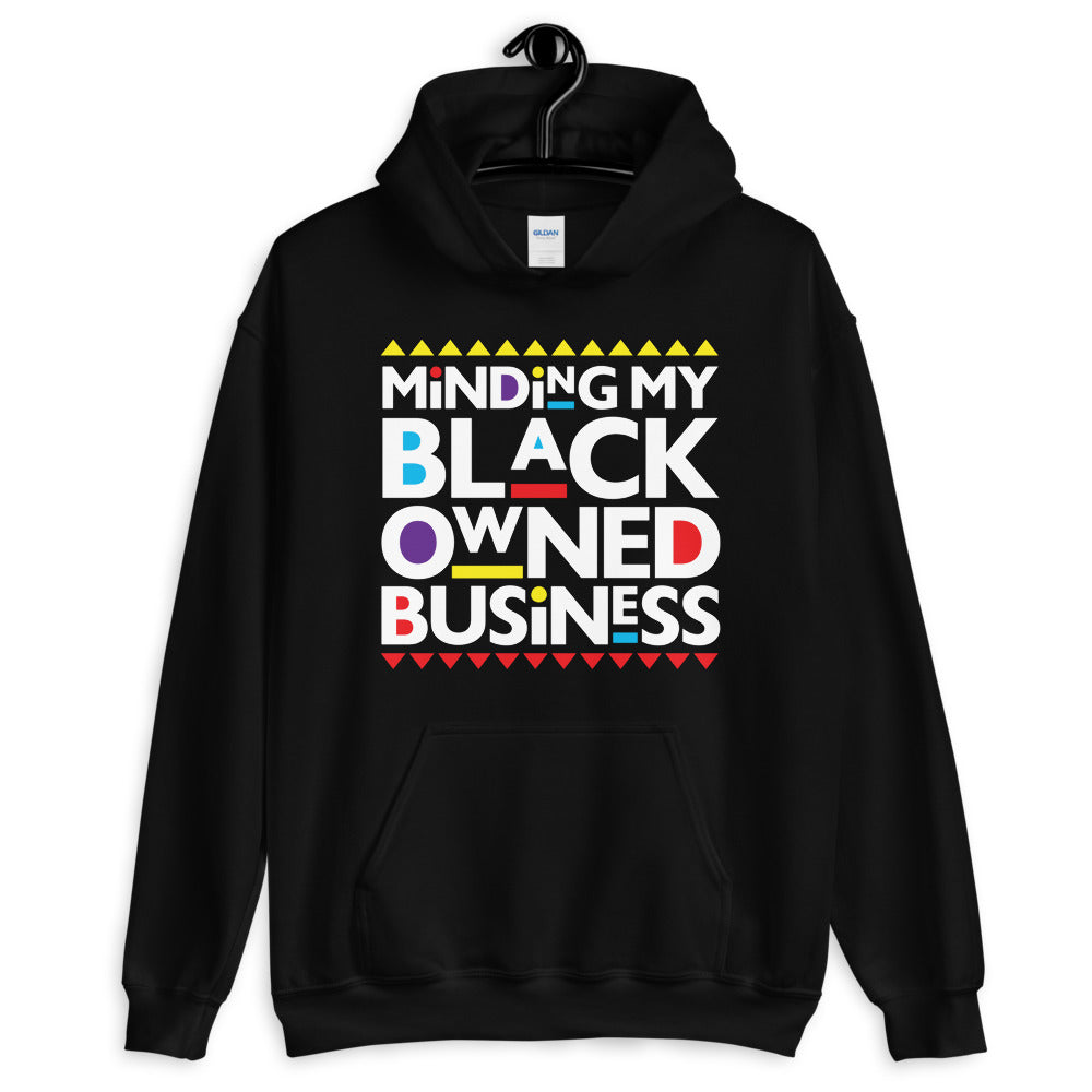 Men's Minding My Black Owned Business Hoodie