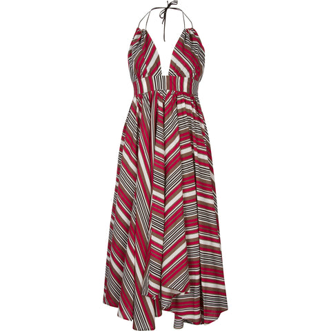 Hampton Dress Sedona Stripe Print