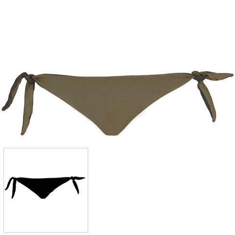 Haleiwa reversible tie side Bottom Olive / Black