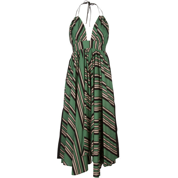 Hampton Dress Mint Julep Stripe