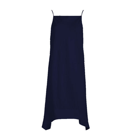 Tulum Dress Broderie Angalise Navy