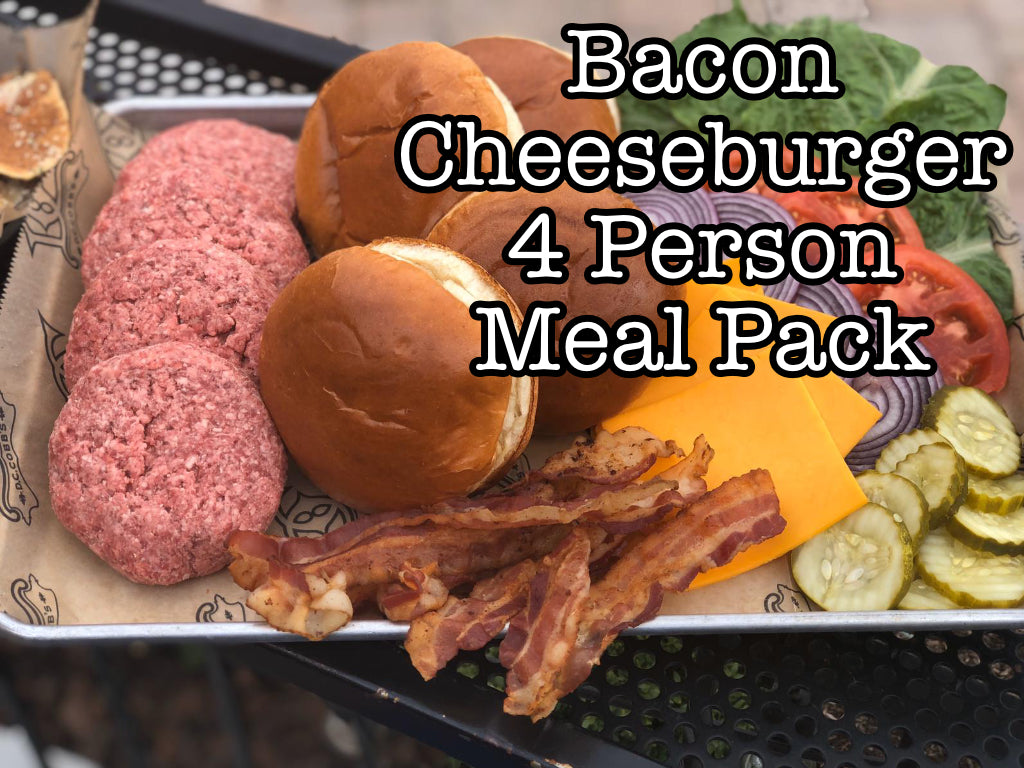 Bacon Cheeseburger Meal Pack