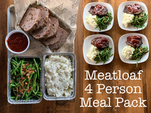 Meatloaf Meal Pack