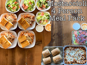 Homemade Mostaccioli Meal Pack