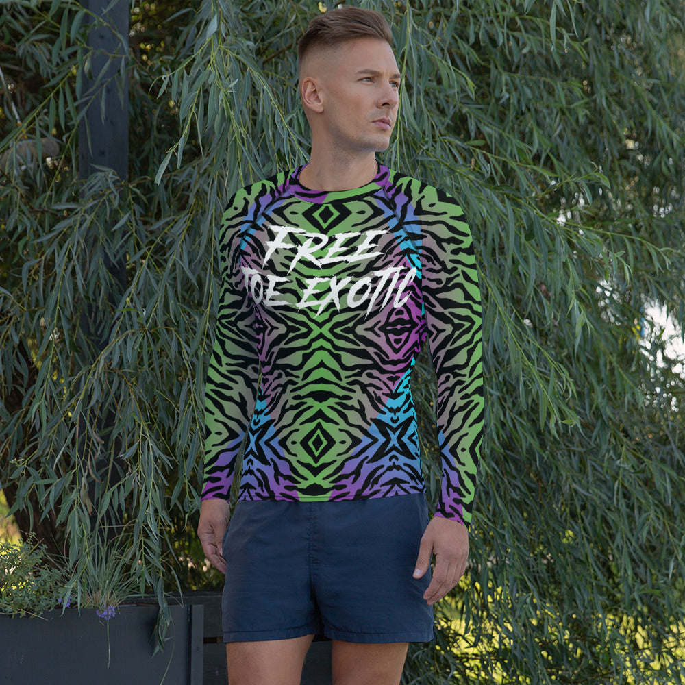 Free Joe exotic Men's Rash Guard