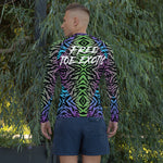 Load image into Gallery viewer, Free Joe exotic Men's Rash Guard