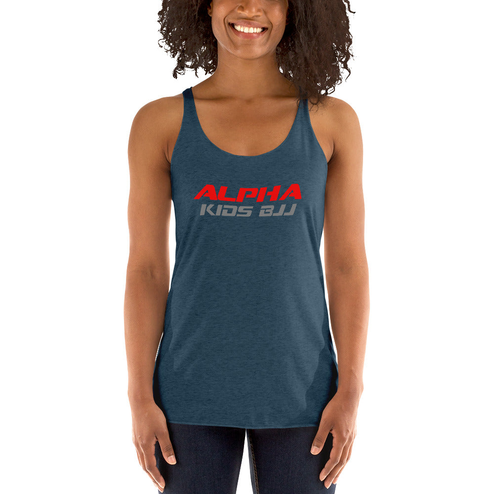 Alpha Kids Front Only Women's ADULT Racerback Tank