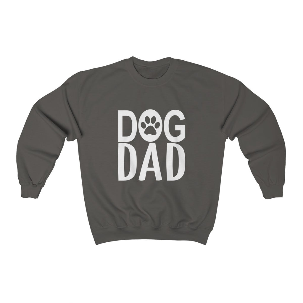 DOG DAD UNISEX CREWNECK SWEATSHIRT