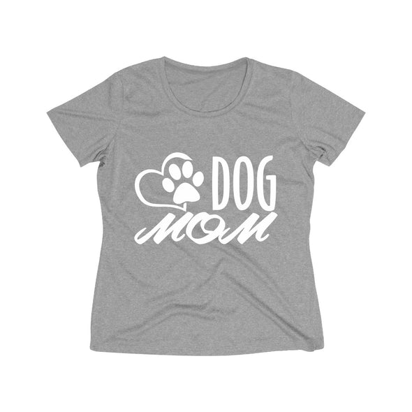 DOG MOM WOMEN'S WICKING TEE