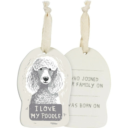 Double Sided Wooden Dog Ornaments- Various Breeds