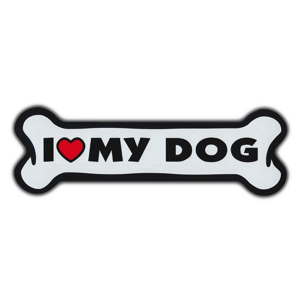 "I Love My Dog Magnet (Giant), 10"" x 3"""