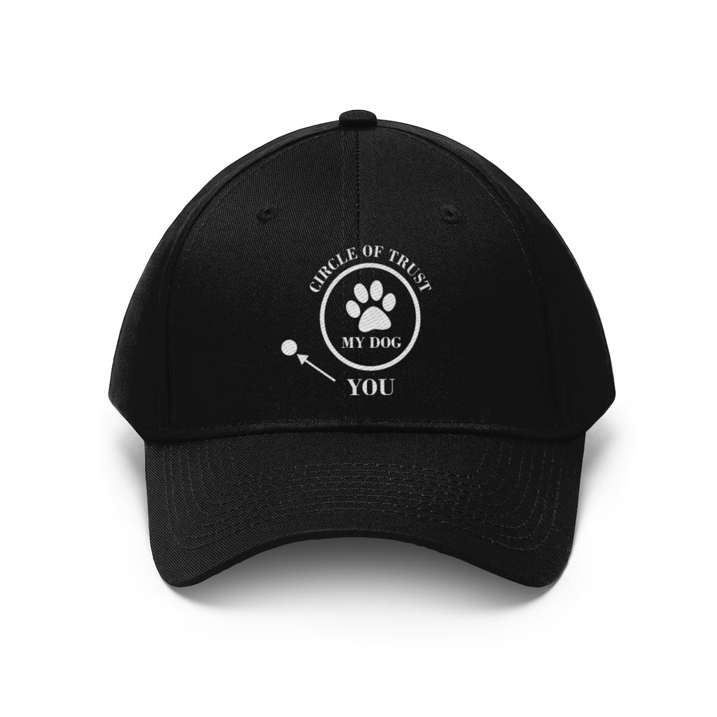 CIRCLE OF TRUST MY DOG YOU TWILL CAP