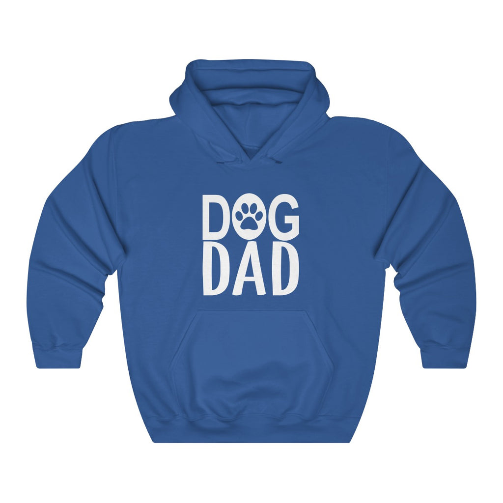 Dog Dad Heavy Blend Hoodie for Dog Lovers - Mucho Poocho