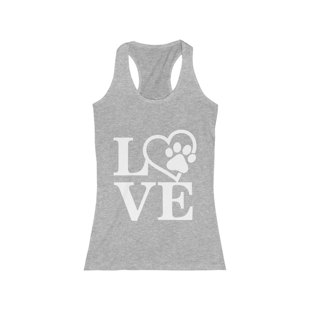 Dog Love tank top for women dog lovers- Mucho Poocho