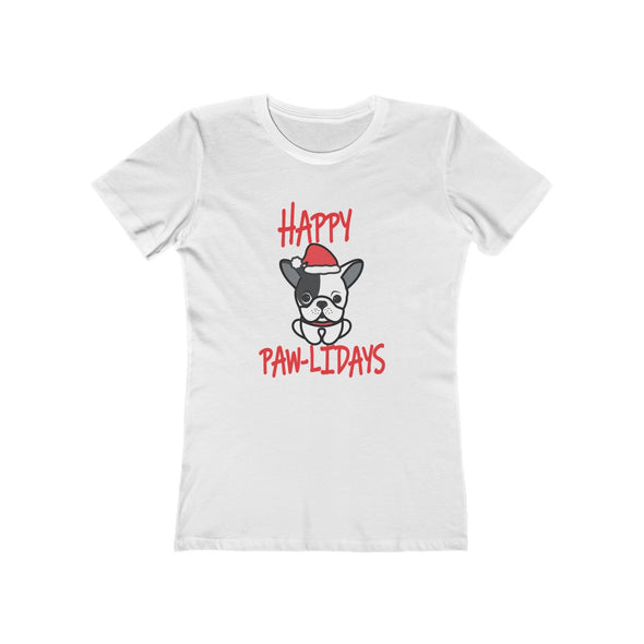 HAPPY PAWLIDAYS BOYFRIEND TEE
