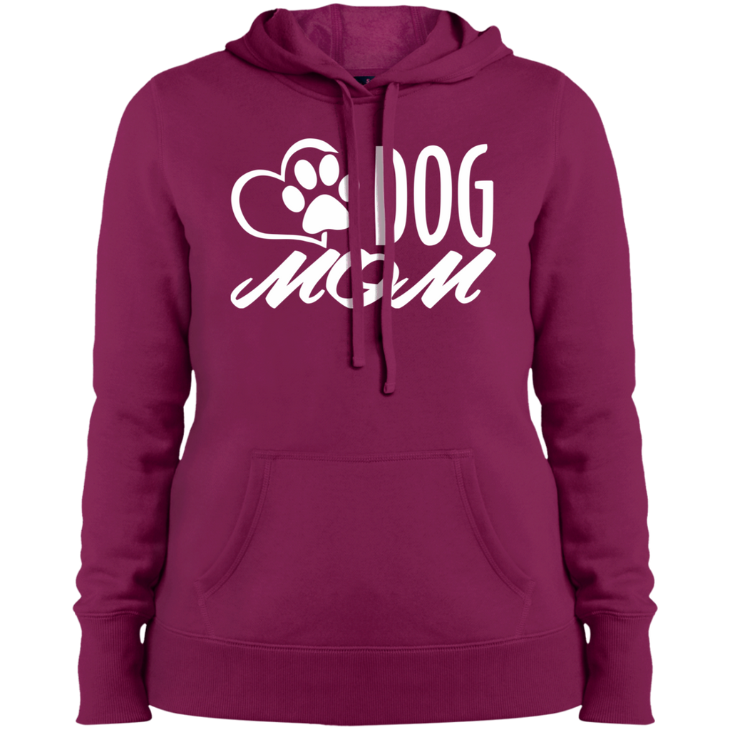 DOG MOM COLLEGE FIT WOMEN'S HOODIE DOG LOVER APPAREL MUCHO POOCHO