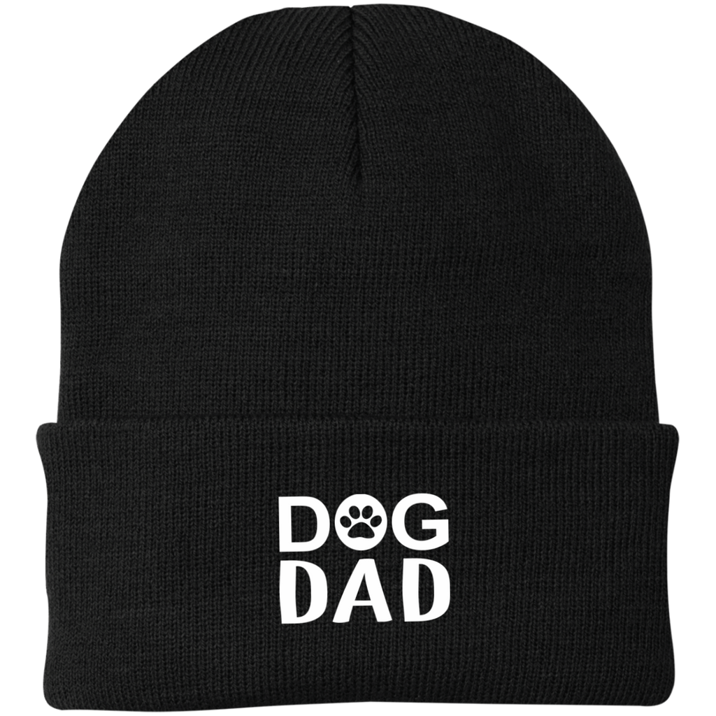 DOG DAD KNIT CAP