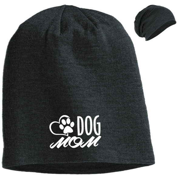 DOG MOM SLOUCH BEANIE