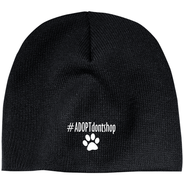 #ADOPT DON'T SHOP BEANIE