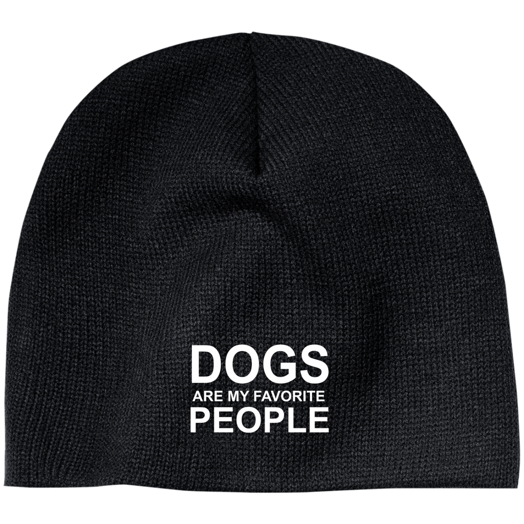 DOGS ARE MY FAVORITE PEOPLE BEANIE