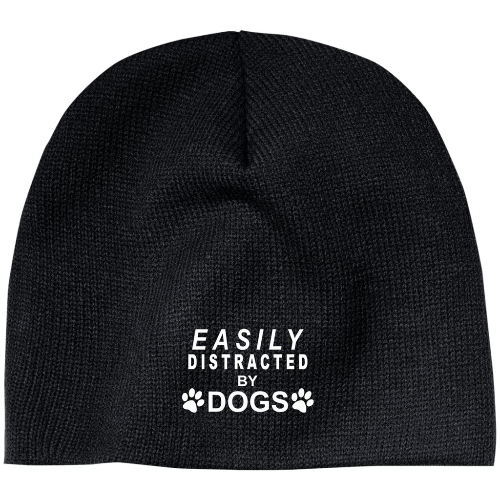 EASILY DISTRACTED BY DOGS BEANIE