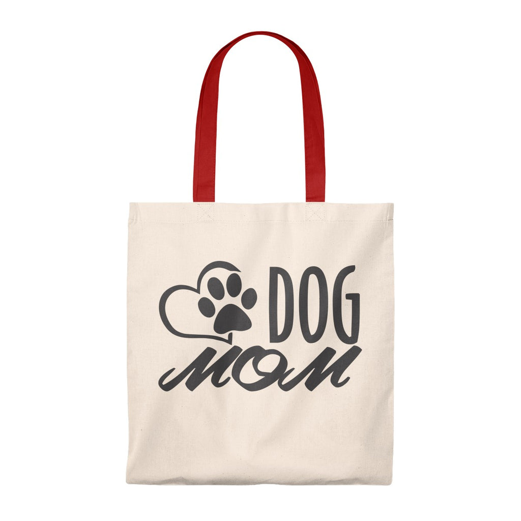 DOG MOM VINTAGE TOTE BAG