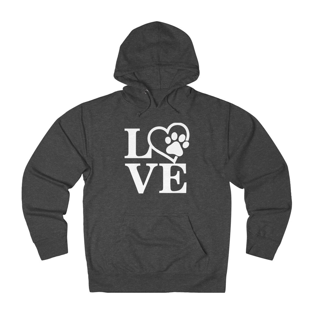 DOG LOVE UNISEX FRENCH TERRY PULLOVER HOODIE