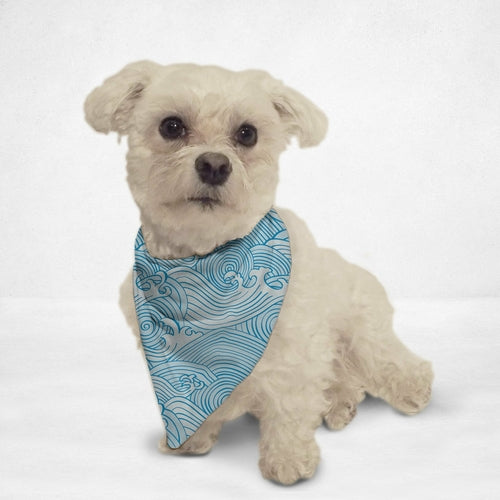 Waves Dog Bandana