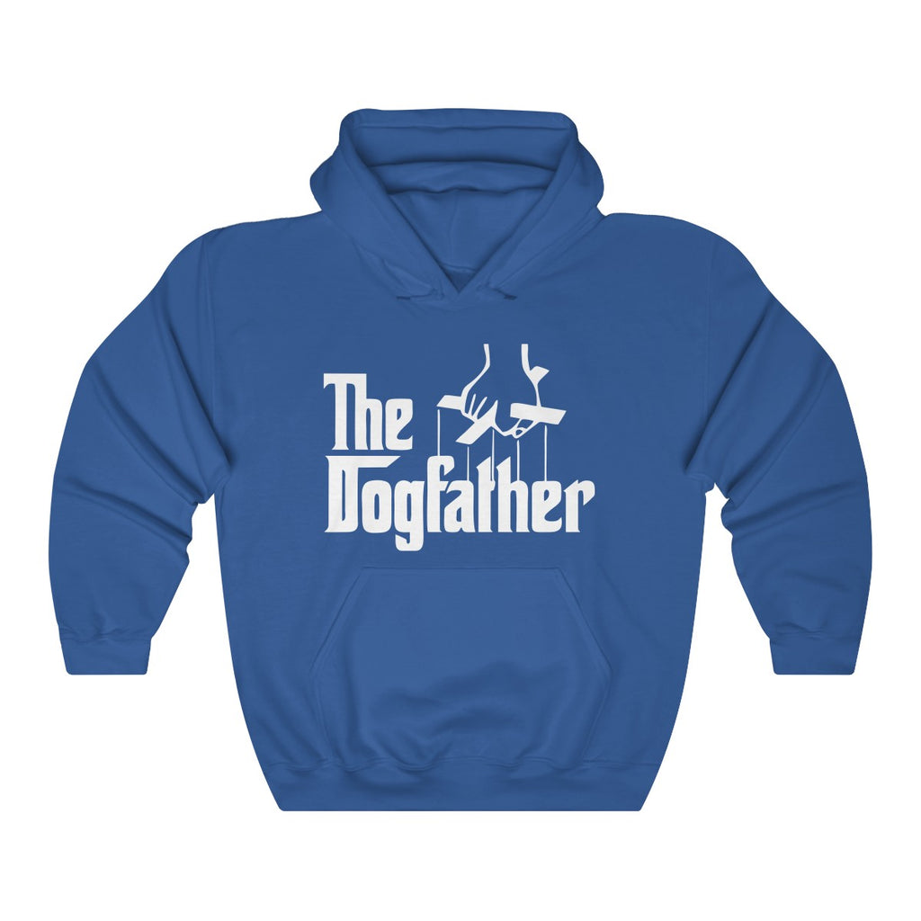The dogfather heavy hoodie for dog dads - Mucho Poocho