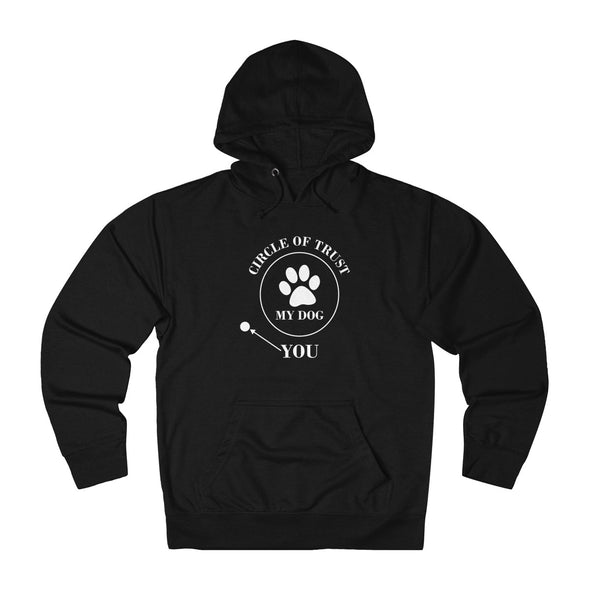 CIRCLE OF TRUST MY DOG YOU UNISEX FRENCH TERRY PULLOVER HOODIE