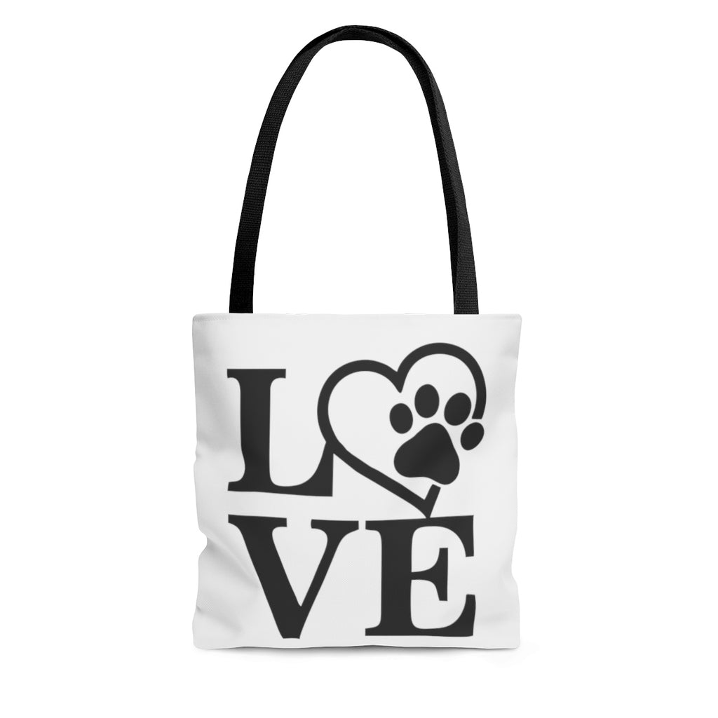 DOG LOVE AOP TOTE BAG