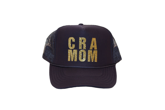 CRA MOM- Navy Trucker Hat