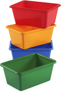Tot Tutors Kids Primary Colors Small Storage Bins (Set of 4) for Only $4.92!!!