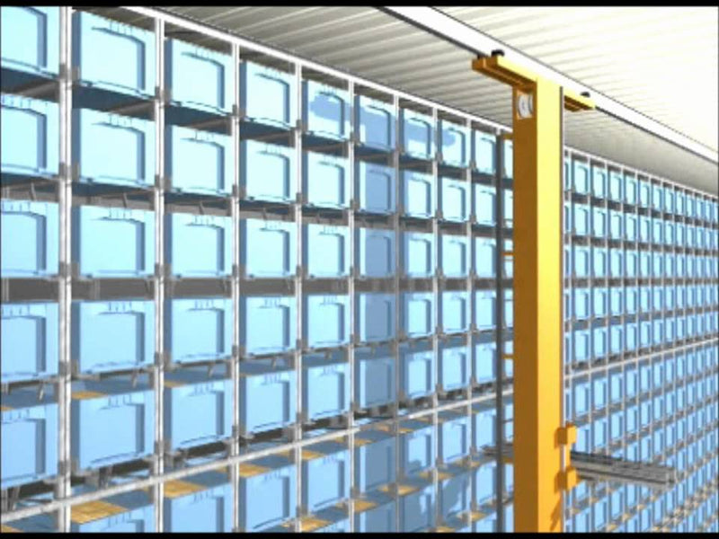 Automated Bin Storage - Product demonstration video from BITO Storage Systems Ltd by BITO Storage Systems Ltd (9 years ago)