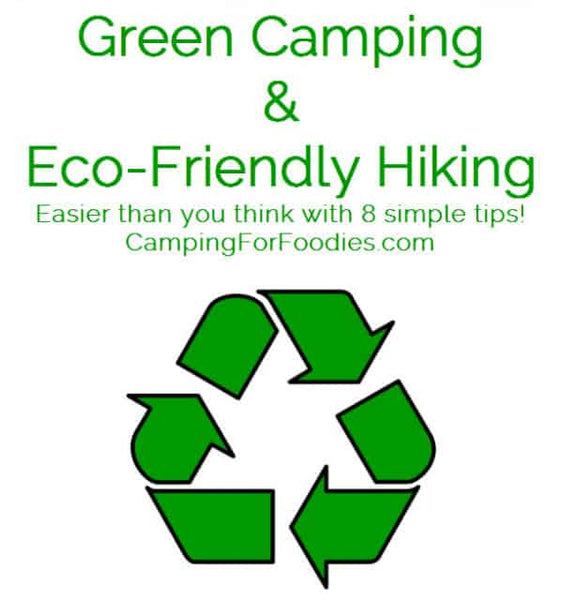 Eco camping is simple with these 8 easy tips! Whether hiking your favorite trail or camping at your most treasured camp spot, you want to leave it untouched for the next guy! Psst we're compensated…see our disclosures.